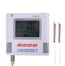 两路高温温度记录仪